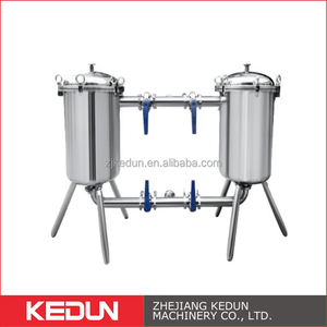Industry Water Treatment Filter Sanitary Food&Beverage Filter High Quality Duplex Filter