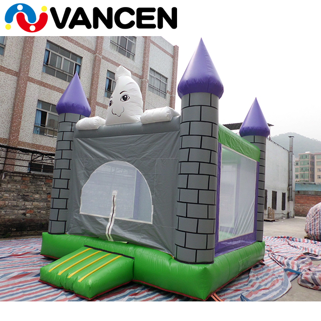 2017 VANCEN factory price cheap small kids and adults blower supplied outdoor backyard toys inflatable jumping castle for sale