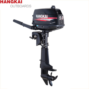 Hangkai 2 stroke 5.0HP Boat engine outboard boat motor water cooled Engine