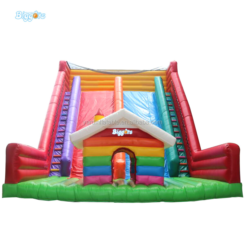 Middle East Popular Juegos Inflables Giant Slide Games