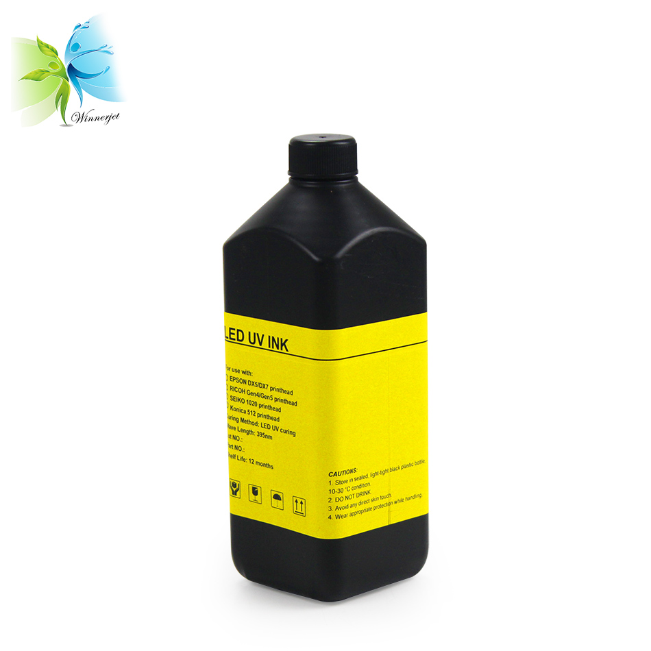 flexible uv ink for printing on textile garment fabric leather uv curable ink for RICOH for EPSON