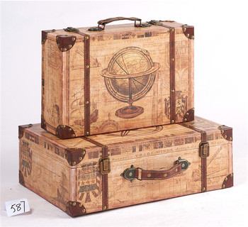 word map styles old suitcases decoration shabby chic suitcase buy