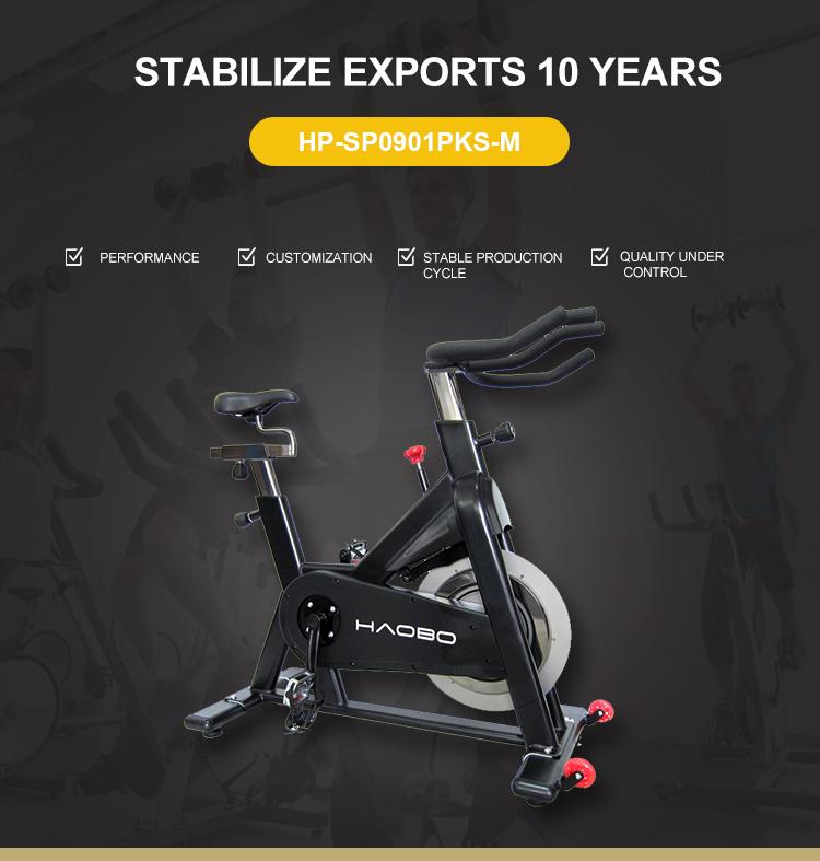 Ginásio Ciclo ciclo Estacionário Indoor, Indoor Comercial Rotação Bicicleta de Exercício Magnética