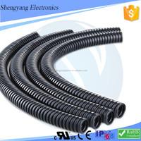 Manufacturer Directory 2'' Black Polypropylene Flexible Tubing