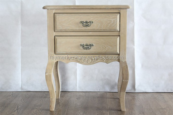 Bentley Designs Chantilly White 2 Drawer Bedside Cabi