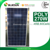 Bluesun 25 years warranty 270W Polycrystalline solar photovoltaic panel | photovoltaic panel
