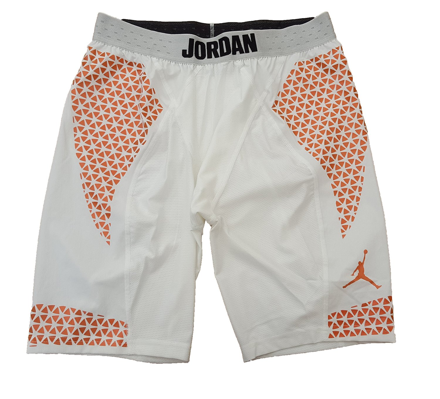 719ed88b67ab43 Get Quotations · Air Jordan Mens Stay Cool Compression Training Shorts White  Copper Underwear