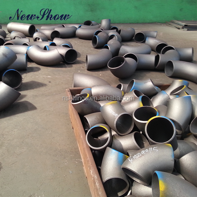 Made In China Forged ASME B16.9 Different Sizes 90 Degree Elbow