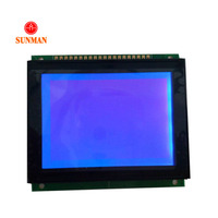 STN Graphic 128x64 transparent programmable lcd display screen