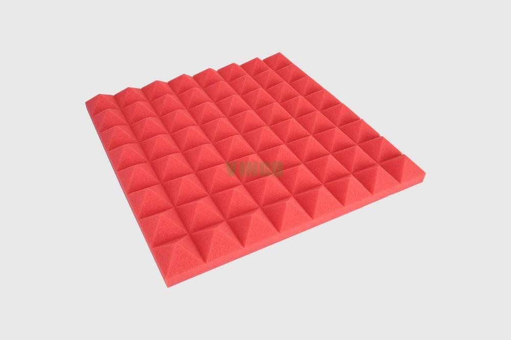 Polyurethane Foam Sound Insulation Pyramid Acoustic Foam