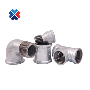 galvanized cast iron pipe fittings union cross equal tee fitting