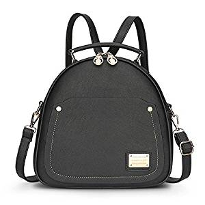 92490e0ada1 Buy Backpack - TOOGOO(R)Spring Small Women Backpacks School Bags For  Backpacks For Teenage Girls Fashion Leather Backpack Bag pack Black in  Cheap Price on ...