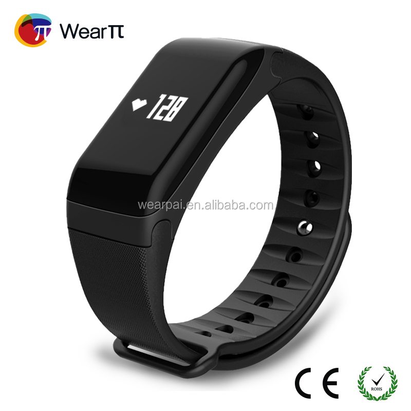 Wearpai Trending Fitness Tracker Id115 Smart Band With Heart Rate Monitor  Veryfit 2 0 Wristbands For Activity - Buy Fitness Tracker,Smart  Band,Veryfit
