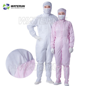 ESD safety garments antistatic working cleanroom coverall