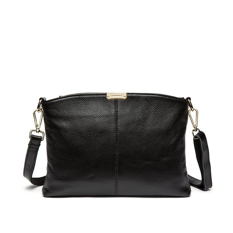 809# Newst Genuine Leather Long Strap Shoulder Bag for <strong>Woman</strong>