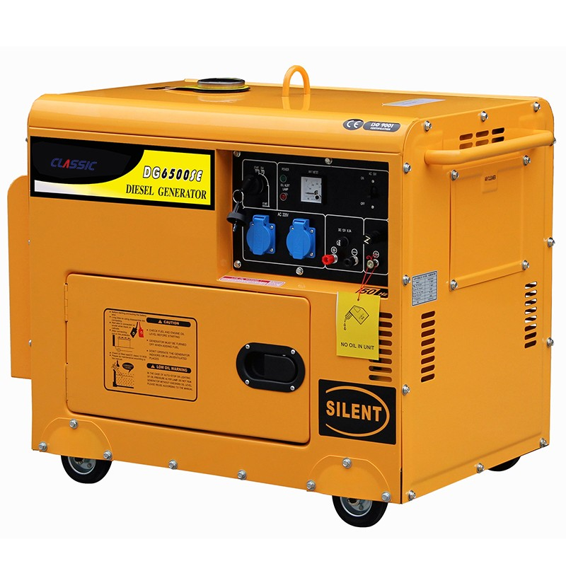 Clic China Electric Start Sel Generator 6kva Silent Portable 6kw