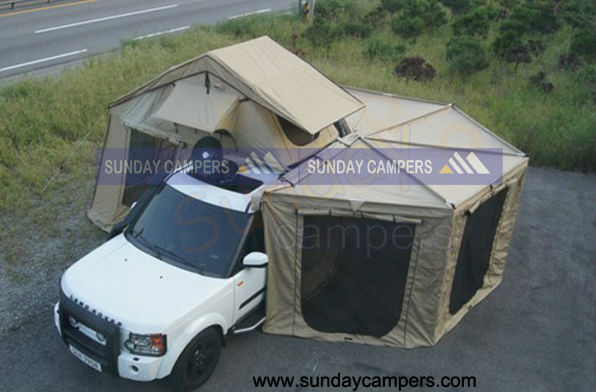 Hot 2013 New Style 270degrere Foxwing Awning Swingout
