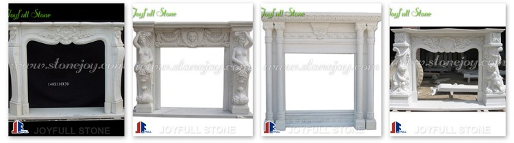 Italienischen Kamin, Bogen Marmor Kaminsims, Kamin Umgibt Kaminsimse