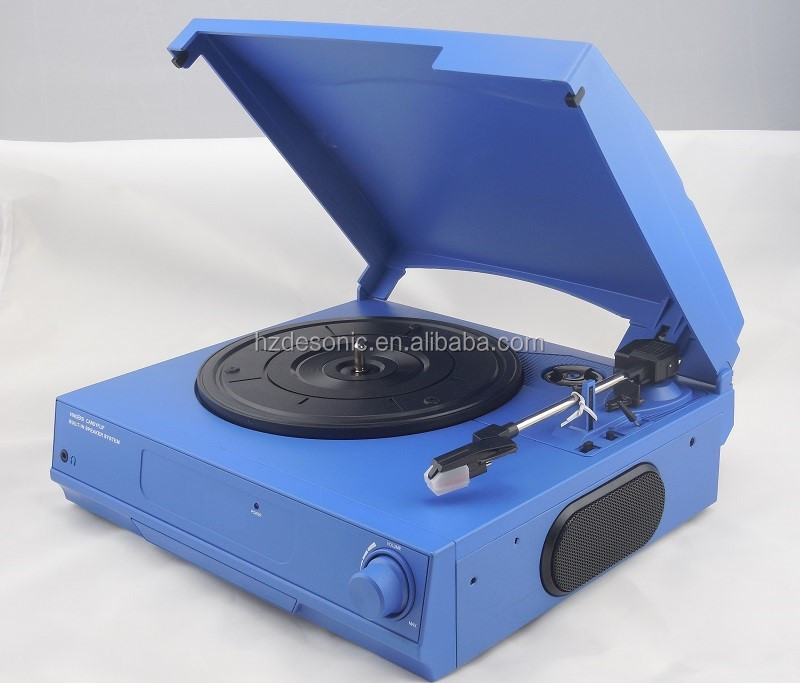 MDF +PVC gramophone vinyl records production with PC Link/3 Speed LP