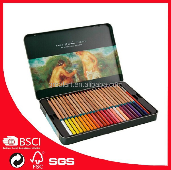 3120-48tn Colored Charcoal Pencils Marco