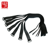 25mm width adjustable hook loop strap
