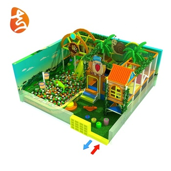 Jungle theme multi projects mini small size children commercial indoor playground equipment with factory price