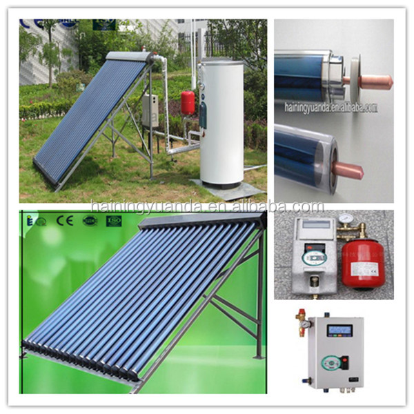 High efficiency home use split pressurized solar water for Efficient hot water systems
