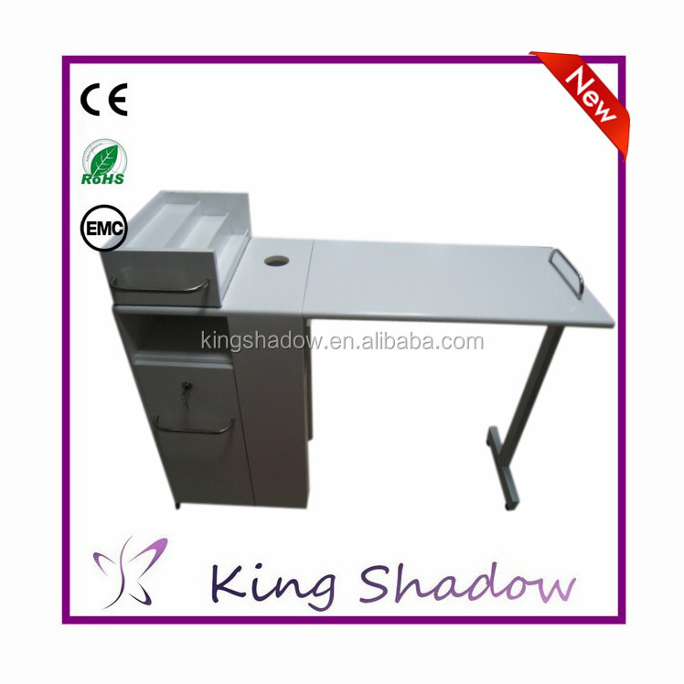 2015 Beauty Salon Stations Glass Top Manicure Tables Nail Dryer ...