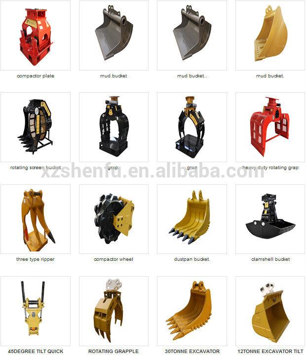 Types Of Excavators : Excavator bucket types pictures to pin on pinterest