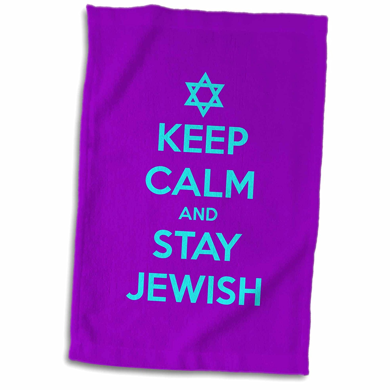 581554d5e EvaDane - Funny Quotes - Keep calm and stay Jewish - 11x17 Towel  (twl_163813_1)