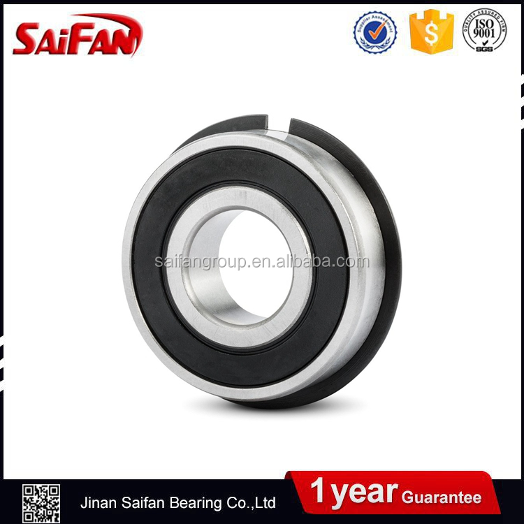 6204-2RS-NR seals bearing W// Snap Ring ball bearings 6204-2RS NR Qty.1