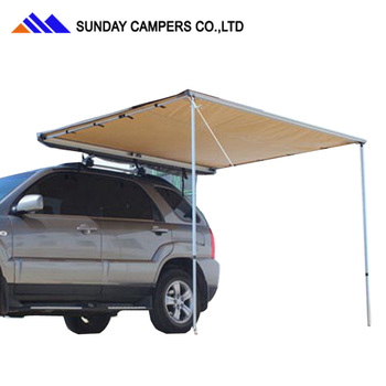 Outdoor Equipment Camping Car Canvas Vehicle Awning For Sale