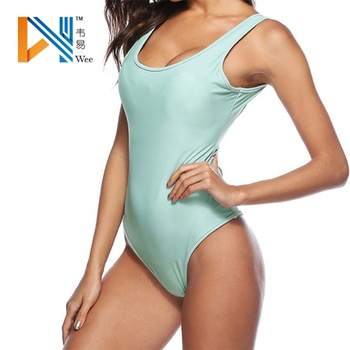 c2b5f8f82 High Cut Tight G String Backless One Piece Thong Swimsuit For Women ...