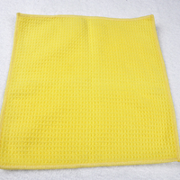 Soft Microfiber Waffle Weave Hand Towel,Quick-Dry Cleaning Towel