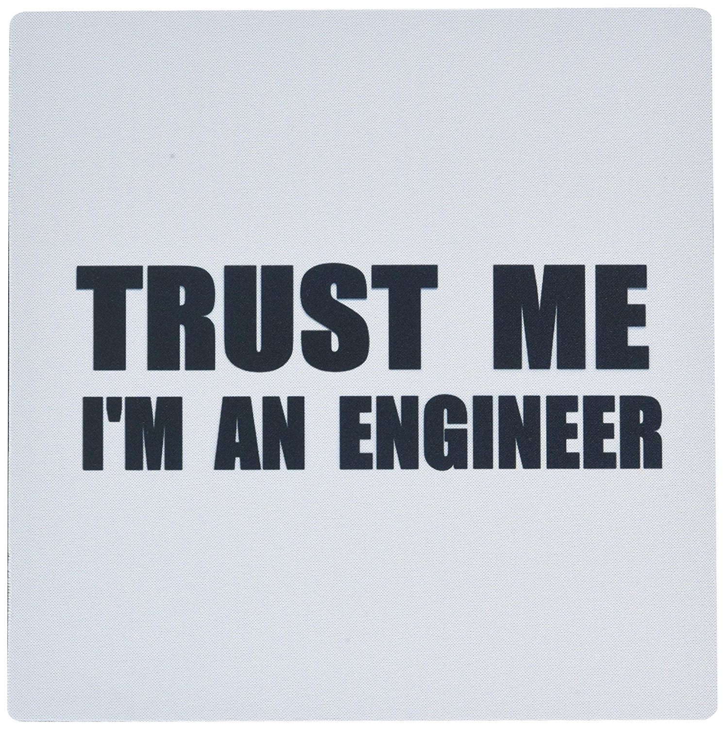 3dRose Trust Me I'm Fun Engineering Humor Funny Job Work Gift Mouse Pad (mp_195603_1)