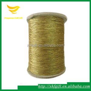 1.5 Gold Metallic Elastic String Wholesale