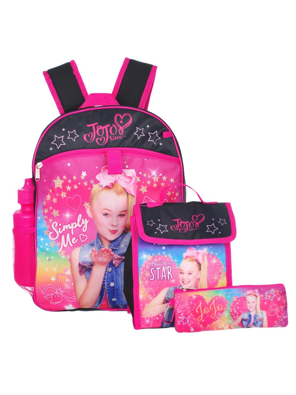 Jojo Siwa 5-Piece Backpack Set