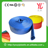 High Pressure 3 Inch Flexible PVC Lay Flat Discharge Water Pump Hose