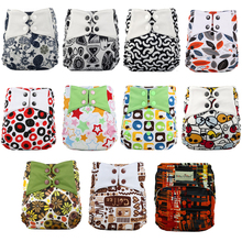 Baby Wizard Cloth Diapers One Size Fits All Baby Diaper Cover Breathable Waterproof PUL Layer Reusable