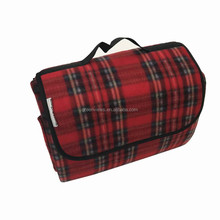 Fashion popular large picnic blanket polyester microfiber picnic blanket