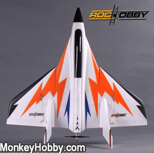 fms rochobby 27 high speed swift roc005 delta wing racer rc jet 3d aerobatics arf with. Black Bedroom Furniture Sets. Home Design Ideas