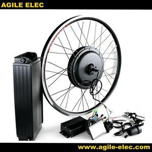 Agile China 1500w Electric Bicycle Rear Wheel Conversion kit With Battery