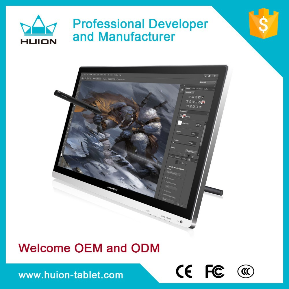 Hot Sale! lcd monitor pen tablet graphics monitor penb touch tablet monitor with digital pen Huion GT-220