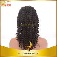 100% Brazilian virgin hair full lace wig best sale deep wave natural color full lace wigs for women