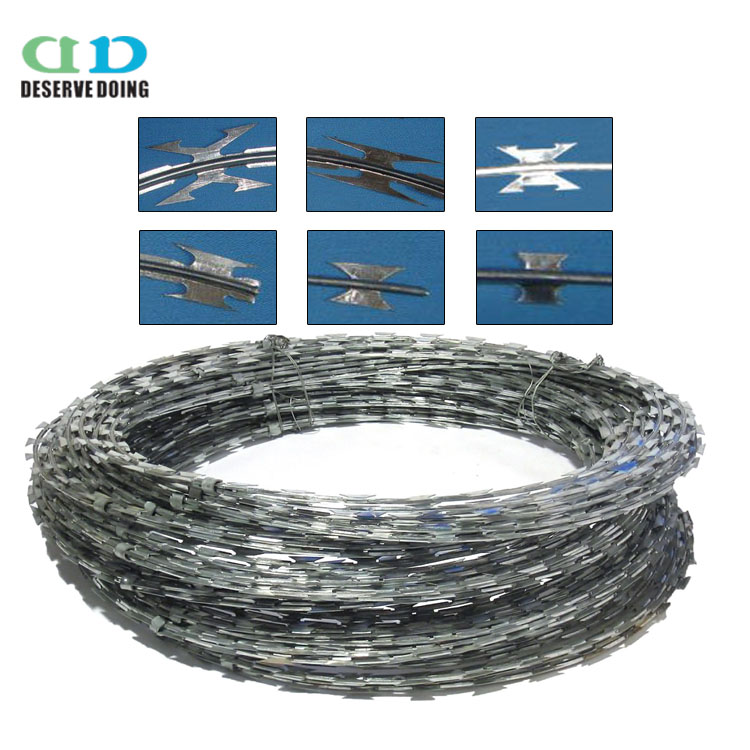 Clips Razor Wire, Clips Razor Wire Suppliers and Manufacturers at ...
