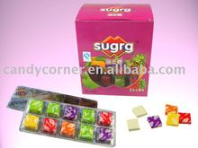 sugus fruity flavor chews candy