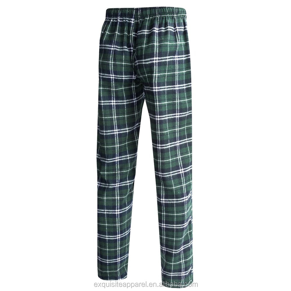 Custom para pijama cuadros pantalones Wth los hombresmens patrón a pijamas flannel rqBnHr