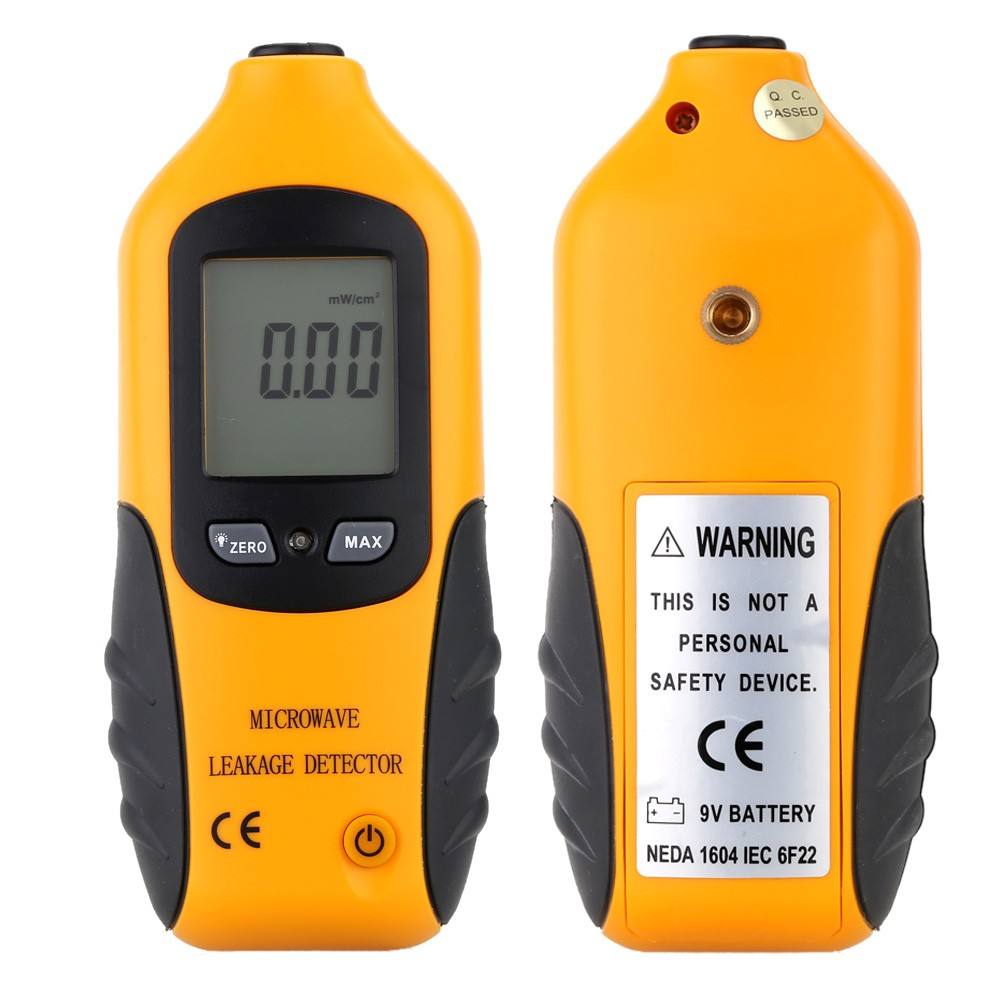 HT-M2 Professional Digital LCD Backlight Display Microwave Leakage Detector High Precision Radiation Meter Tester Oven Gas