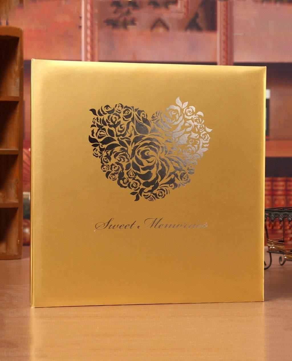 ZENGAI Photo Album/Handmade Diy Couple Album Laminating Childhood Celebration Album Family Album Creative Birthday Gift (Color : C, Size : 32.533.3cm)