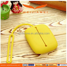 customized Colorful key chain silicone car key cover wholesale